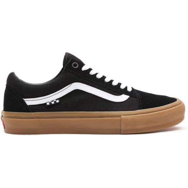 Vans Skate Old Skool Skate Shoes - Black/Gum