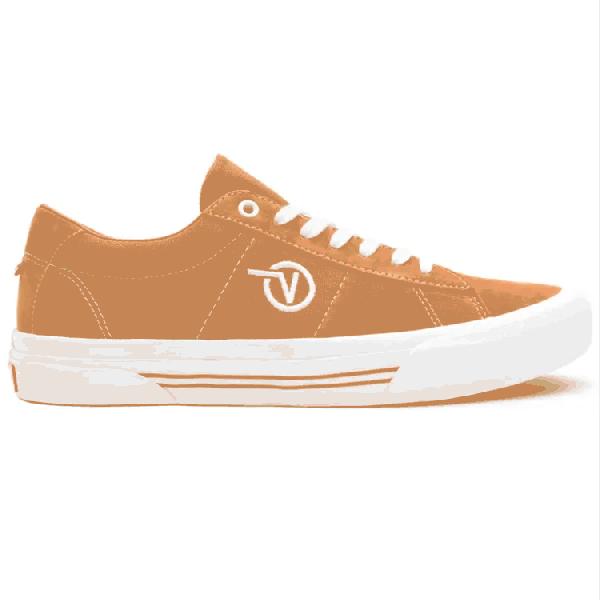 Vans Skate Sid Skate Shoes - Pumpkin/White