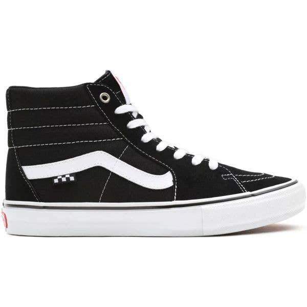 Vans Skate Sk8-Hi High-Top Skate Shoes - Black/White