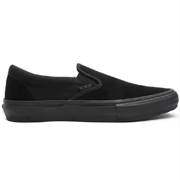 Vans Skate Slip-On Skate Shoes - Black/Black