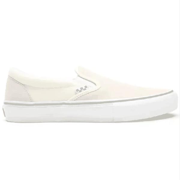 Vans Skate Slip-On Skate Shoes - Off White