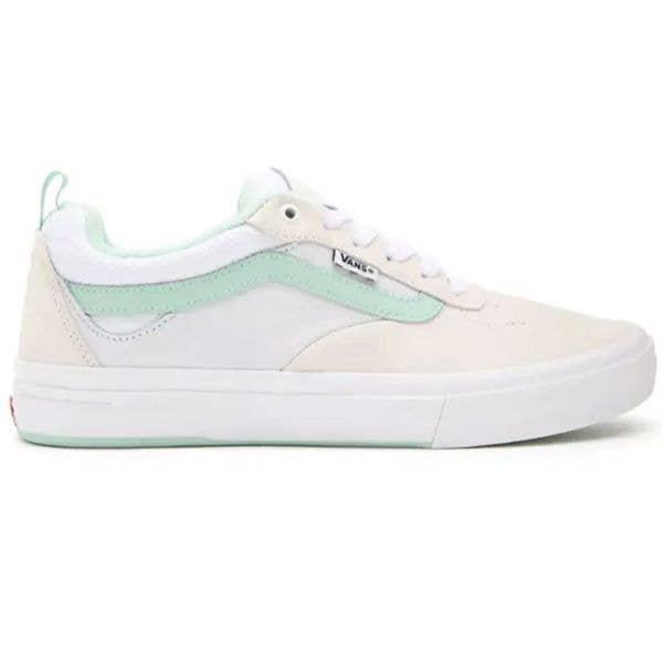 Vans Kyle Walker (Sport Vintage) Skate Shoes - White/Mint