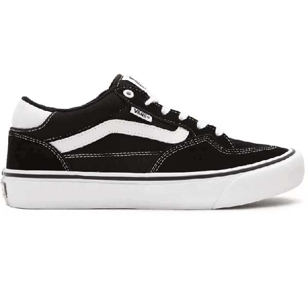 Vans Rowan Skate Shoes - Black/True White
