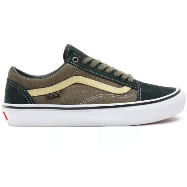 Vans Skate Old Skool Skate Shoes - Scarab/Military