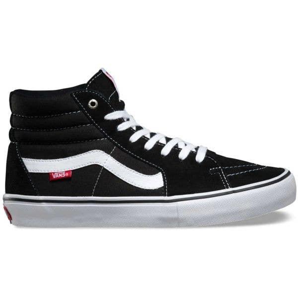 Vans Sk8-Hi Pro Skate Shoes - Black/White
