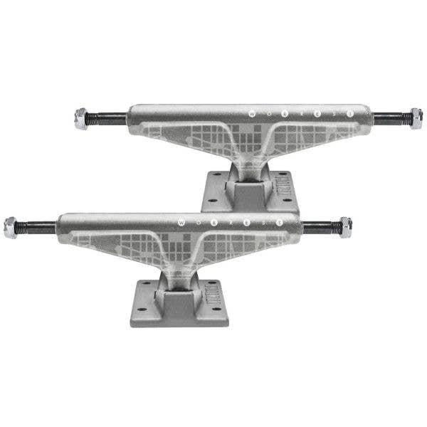 Venture Worrest Plaza Skateboard Trucks - Raw 5.6'' (Pair)