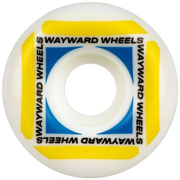 Wayward Waypoint Funnel Skateboard Wheels - Yellow 52mm