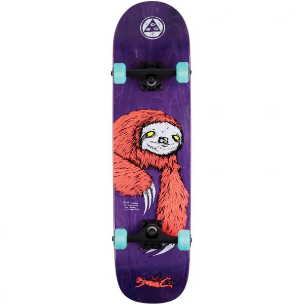 Welcome Sloth Complete Skateboard - 8''