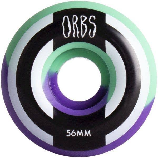 Welcome Orbs Apparitions Splits Skateboard Wheels 56mm - Mint/Lavender