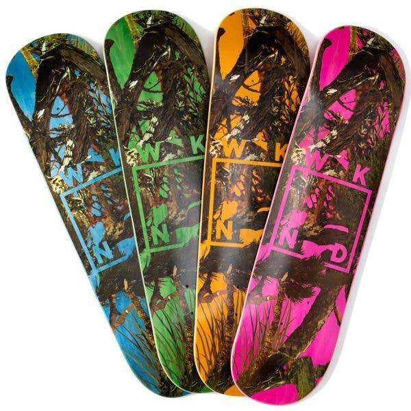 WKND Camo Logo Skateboard Deck 8.0''