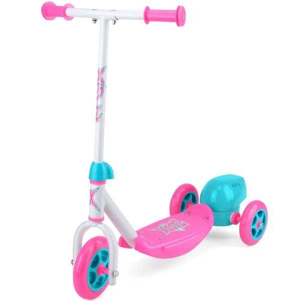 Xootz Bubble Scooter - Pink/White