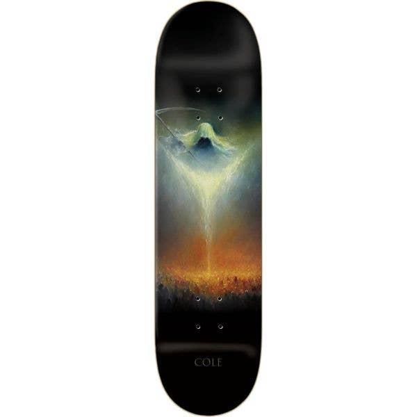 Zero Cole Angel of Death III Skateboard Deck - Black 8.25''