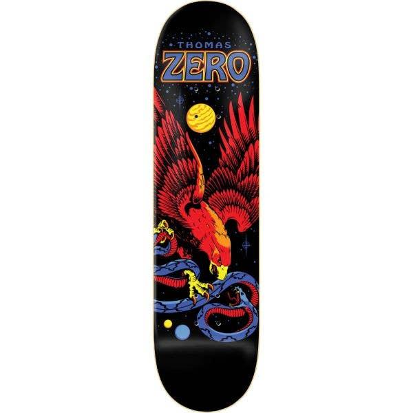 Zero Thomas Eagle and Snake Skateboard Deck - Black 8.25''