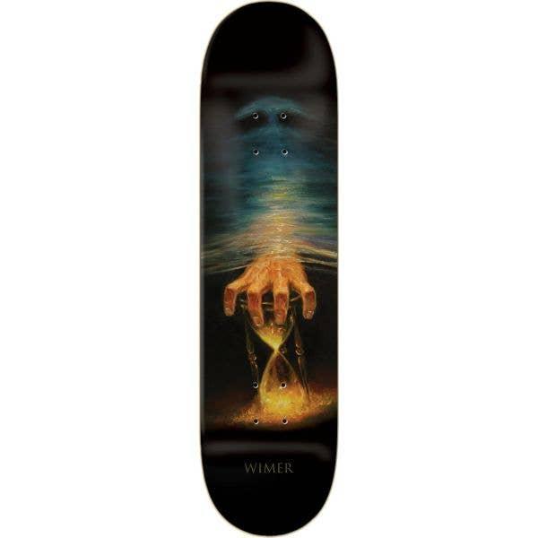 Zero Wimer Fourth Dimension Skateboard Deck - Black 8.375''