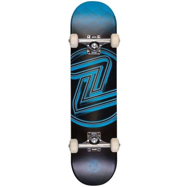 Z-Flex Mini Logo Complete Skateboard - Blue 7.25''
