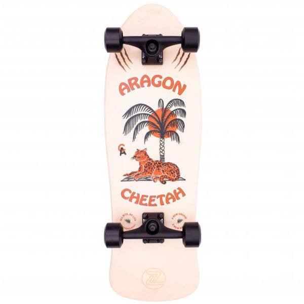 Z-Flex Aragon Cheetah 80's Frog Complete Longboard - 33''