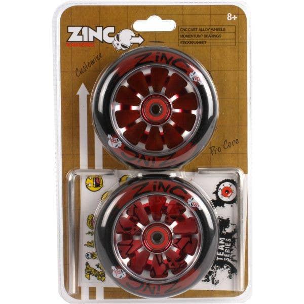 Zinc Team Series Accessory Set - Red