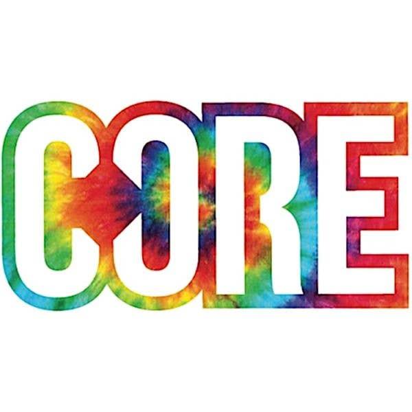 Core Logo Sticker Tie Dye