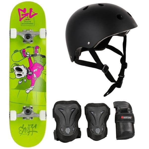 "Enuff Skully Mini Complete Skateboard Bundle - 7.25"""