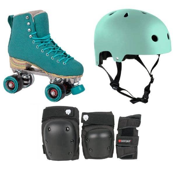 LMNADE Throwback Quad Roller Skates Bundle