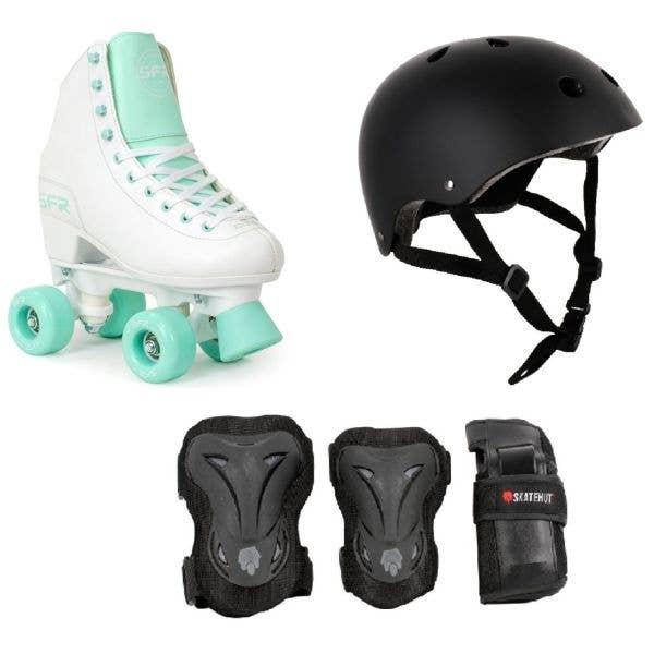 SFR Figure Quad Roller Skates Bundle